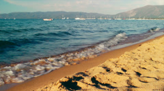 Stock Video Footage of Lake Tahoe Shore
