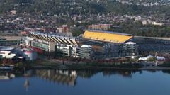 4K Heinz Field Pittsburgh 3748 Stock Footage