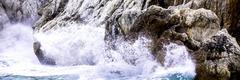 Waves crashing Stock Photos
