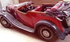 Vintage car 1940 Kuvituskuvat