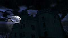 Dark castle Stock Footage