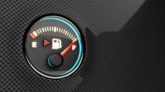 Fuel indicator. Stock Footage