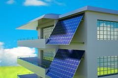 Photovoltaic module Stock Illustration