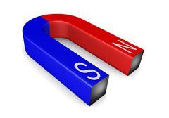 magnet - stock illustration