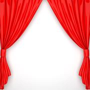 Drapes Stock Illustration