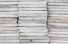 stack of cobblestone. - stock photo