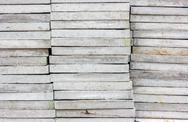 Stack of cobblestone. Stock Photos