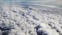 Fly thru sky Stock Footage