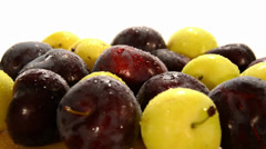 Plums Stock Footage