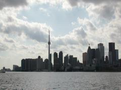Toronto Harbour Time-Lapse 1 (2K) Stock Footage