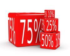 percentage - stock illustration