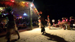 Aitutaki cook  islands 45 Stock Footage