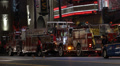 Fire Truck Engine Firefighters Car Hollywood Boulevard Los Angeles California US Footage