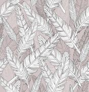 abstract feathers pattern. seamless pattern. - stock illustration