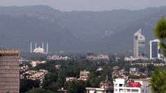 Skyline of Islamabad, Pakistan - stock footage