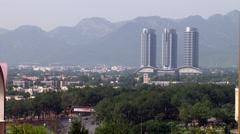 Skyline of Islamabad, Pakistan Stock Footage