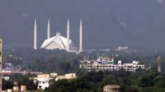 Shah Faisal Mosque Stock Footage