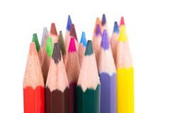 Stock Photo of multicolored pencils