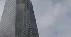 Ultra HD 4K New Yorker Skyscrapers The Bank of America Tower, New York City Stock Footage