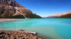 Peyto Lake Banff National Park - stock footage