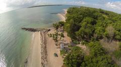 Virginia Key Beach Stock Footage