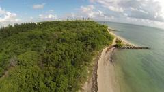 Virginia Key Beach - stock footage
