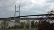 Stock Video Footage of Mississippi River Bridge
