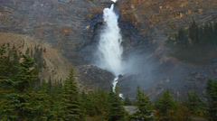 Takakkaw Falls Yoho National Park Stock Footage