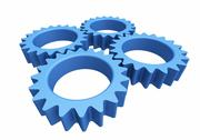 Stock Illustration of gears