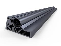 Shape steel-rolled stock Stock Illustration