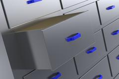Storage Stock Illustration