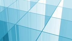 Glass grid Stock Illustration