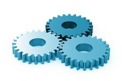 gears - stock illustration