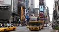 Times Square Broadway Theaters Symbol New York City United States Manhattan Day Footage