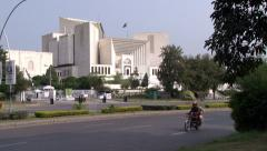 Supreme Court of Pakistan in Islamabad, Pakistan - stock footage