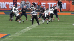 Football Game, Field, Sports Stock Footage