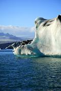 enormous iceberg - stock photo