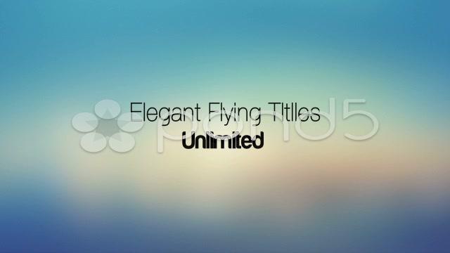 After Effects Project - Pond5 Elegant Flying Titles & Bonus Unlimited 32338 ...