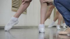 Children Ballet Stock Footage