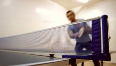 Ping-pong b Stock Footage