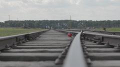 Auschwitz Railways Stock Footage