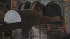 Auschwitz Crematorium Stock Footage