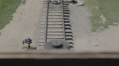Auschwitz Railways Stock Footage