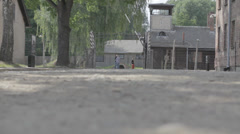 Auschwitz Concentration Camp Stock Footage