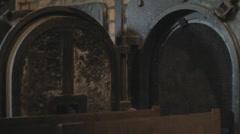 Auschwitz Crematorium - stock footage
