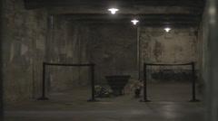 Auschwitz Museum - stock footage