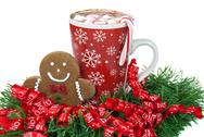 Stock Photo of Christmas gingerbread man
