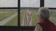Stock Video Footage of Auschwitz Railways