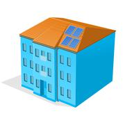 Apartment Building Stock Illustration