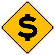Dollar Sign Stock Illustration